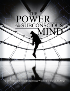 The Power Of The Subconcious Mind - EBook And 10 Part Video Series [FULL RESELLER RIGHTS INCLUDED] | eBooks | Psychology & Psychiatry