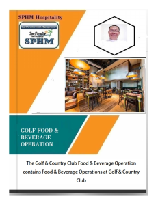 golf - food & beverage operation