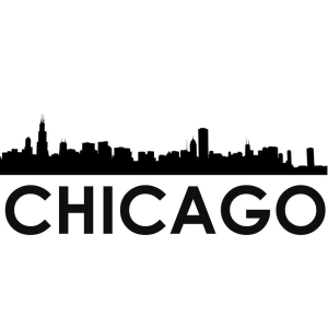chicago skyline chicago svg - silhouette svg dxf pdf png jpg digital cut vector file svg file commerical use