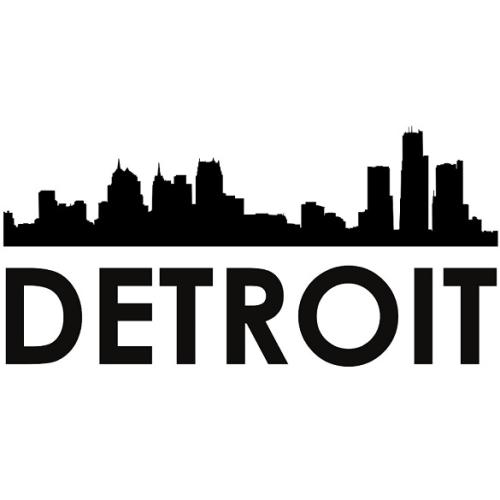 First Additional product image for - Detroit Skyline SVG   Silhouette Svg Dxf Pdf Png Digital Cut Vector File Svg File