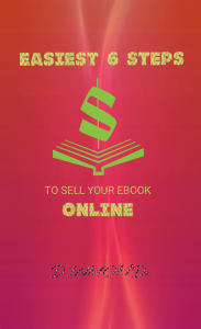 easiest 6 steps to sell your ebook online