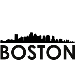 Boston Skyline Boston SVG - Boston Skyline Silhouette Svg Dxf Pdf Png Jpg Digital Cut Vector File Svg File | Photos and Images | General