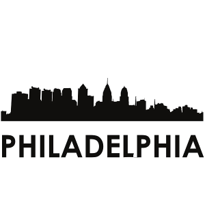 philadelphia skyline philadelphia svg - philadelphia skyline silhouette svg dxf pdf png jpg digital cut vector file svg file