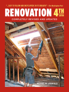 Renovation 4th Edition | eBooks | Arts and Crafts