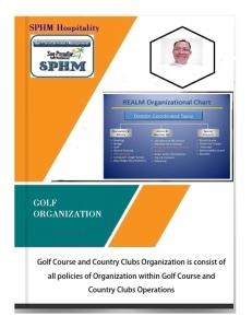 golf - organization policy