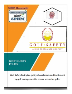 golf - safety policy