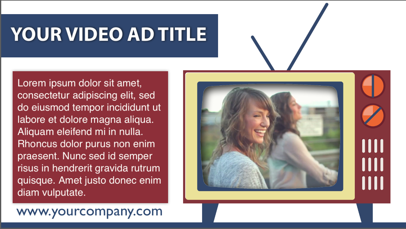 First Additional product image for - ScreenFlow RetroTV Video Template