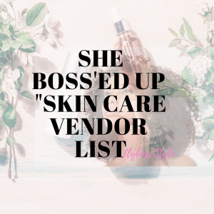 "flyboss "" skincare"" emergency kit vendor list"