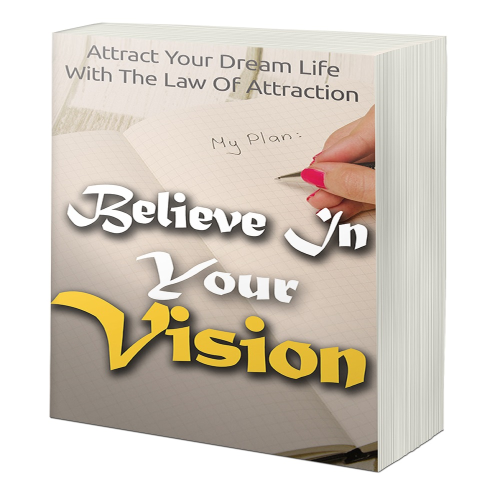 First Additional product image for - Believe In Your Vision