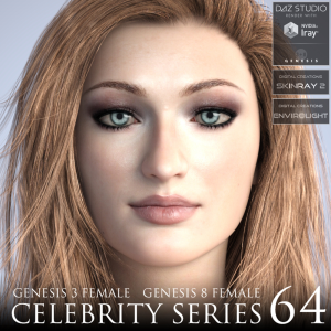 celebrity series 64 for genesis 3 and genesis 8 female