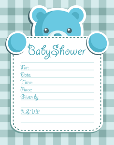 Boy Baby Shower invitation | Other Files | Everything Else
