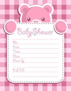 Girl Baby Shower Invitation | Other Files | Everything Else