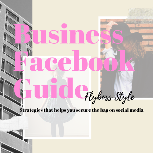 First Additional product image for - Business Facebook GuideFlyboss Style