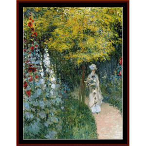 Rose Garden - Monet cross stitch pattern by Cross Stitch Collectibles | Crafting | Cross-Stitch | Other