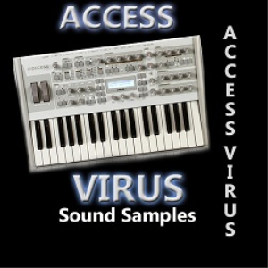 acces virus sound library - 850 sound files