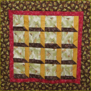 easy attic windows dimensional quilt pattern