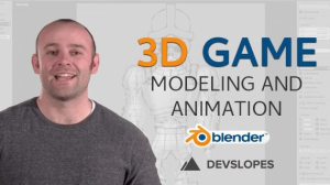 complete blender tutorial: learn blender animation & 3d game modeling