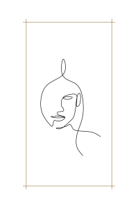 Face Line art | Photos and Images | General