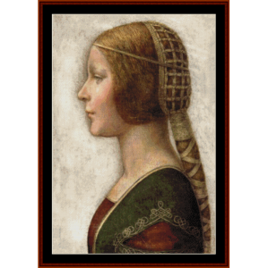 principessa custom pattern by cross stitch collectibles