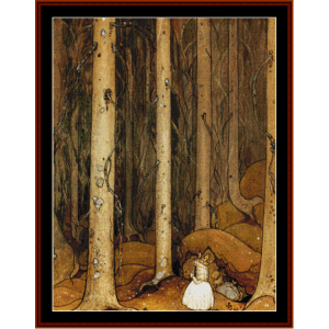 It's Beautiful Here - John Bauer cross stitch pattern by Cross Stitch Collectibles | Crafting | Cross-Stitch | Other