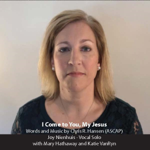 i come to you, my jesus – lead sheet and accompaniment track