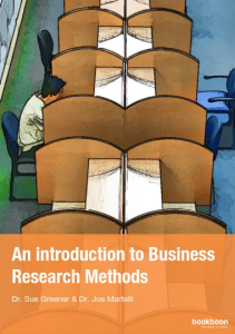 An introduction to Business Research Method | eBooks | Business and Money