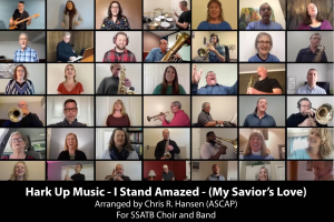 i stand amazed (how marvelous) piano vocal edition arranged for vocal solo with satb choir and piano/rhythm