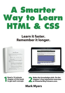 A Smarter Way to Learn HTML & CSS: Learn it faster. Remember it longer. | eBooks | Computers