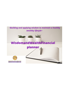 wisdom andwealth financial planner