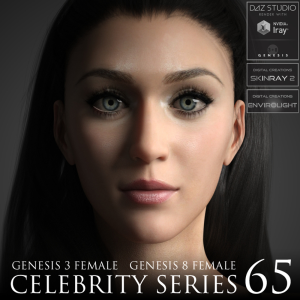celebrity series 65 for genesis 3 and genesis 8 female