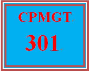 CPMGT 301 Wk 1 Discussion - Project Portfolio Management | eBooks | Education