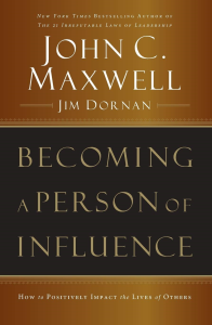becoming a person of influence (audiobook format)