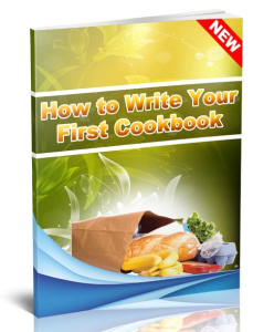 how to write your first cookbook