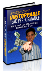 unstoppable peak performance
