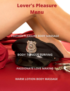 lover's pleasure menu