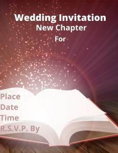 wedding invitation for name