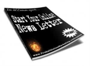 start your online news letter