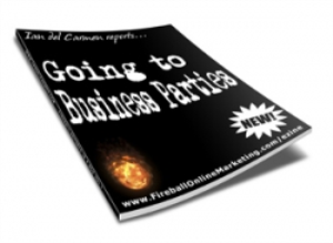 Going To Business Parties | eBooks | Business and Money