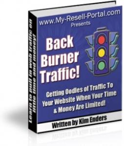 back burner traffic!