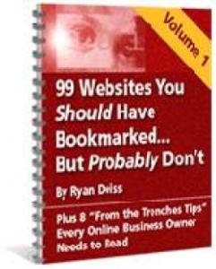 99 websites you should have bookmarked : volume 1