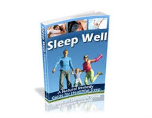Sleep Well | eBooks | Health
