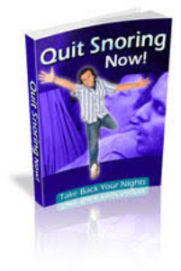 Quit Snoring Now | eBooks | Health
