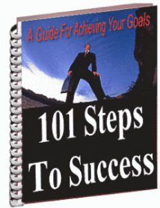 101 steps to success