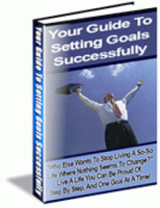 Your Guide To Setting Goals Successfully | eBooks | Self Help