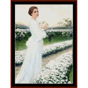 Morning in May - Elsabeth Sonrel cross stitch pattern by Cross Stitch Collectibles | Crafting | Cross-Stitch | Other