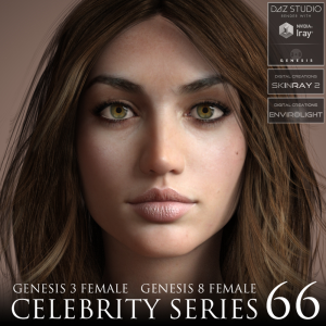 Celebrity Series 66 for Genesis 3 and Genesis 8 Female | Software | Design