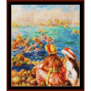 The Bathers - Renoir cross stitch pattern by Cross Stitch Collectibles | Crafting | Cross-Stitch | Other
