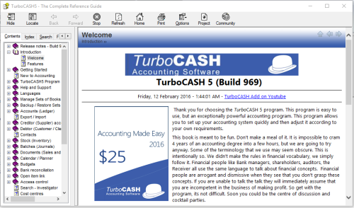 Fourth Additional product image for - TurboCASH Accounting 2020 (Professional Accounting Software) Windows DOWNLOAD