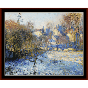 Frost - Monet cross stitch pattern by Cross Stitch Collectibles   Crafting   Cross-Stitch   Other