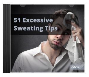 51 excessive sweating tips audio book plus ebook
